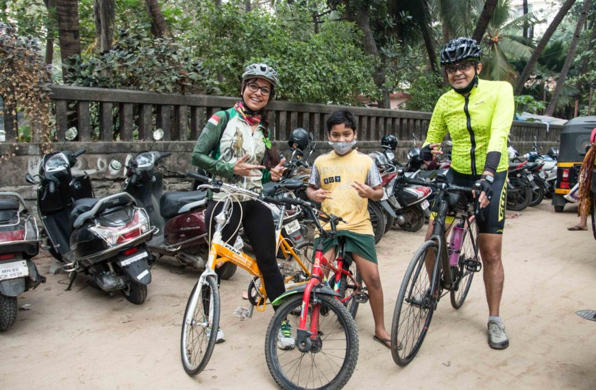 Die Fahrradbürgermeisterin von Mumbai