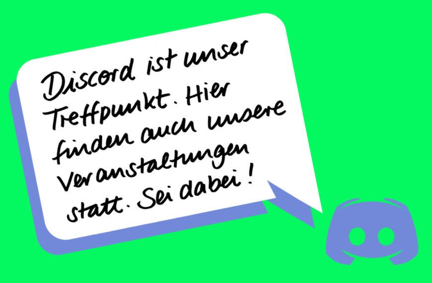 Discord – Komm Klönen